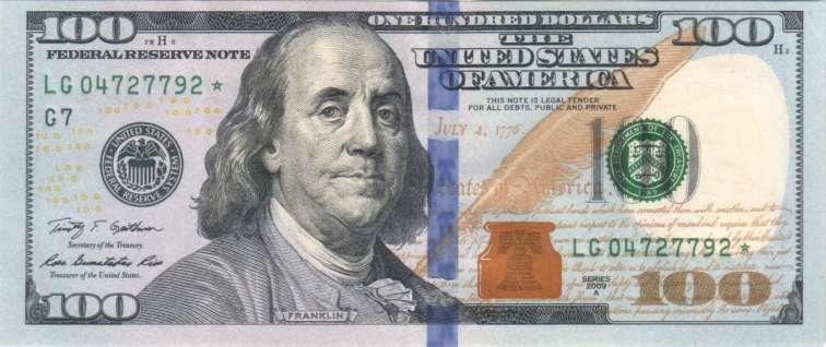 cien dolares