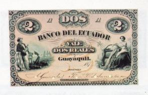 Dos reales Ecuador 1800