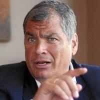 Fiscal pide brazalete electrónico para Rafael Correa por el caso Balda -