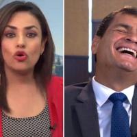 Asambleísta de CREO irritándose falta a la verdad durante comparecencia de Correa