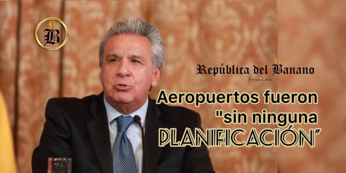 Presidente Lenin Moreno acusa al gobierno anterior nuevamente
