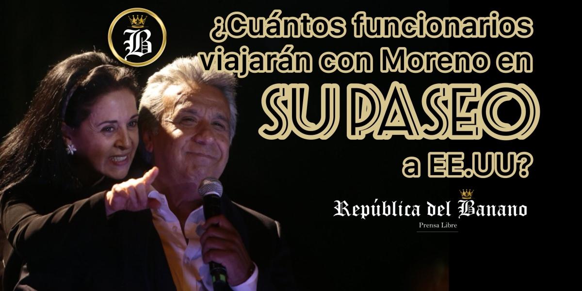 Lenin Moreno se alista para su gira a EE.UU