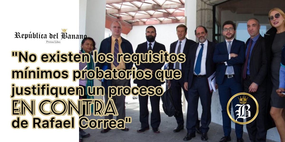 """Veedores Internacionales: """"Esto es un indicio de 'persecución política a través de la justicia' contra Correa"""""""