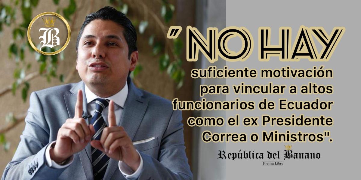 La Fiscalía de Colombia inadmitió la denuncia presentada por político Balda