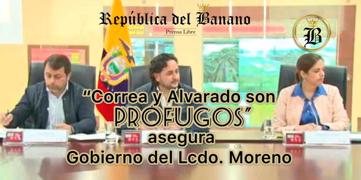 Gobierno de Moreno exhortó a la Justicia para que prohíba la salida del país de exfuncionarios del gobierno de Correa