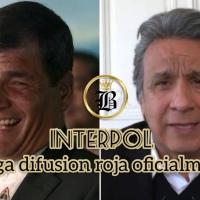 """Gobierno de Moreno ridiculizado a nivel internacional: Interpol rechaza """"difusión roja"""""""