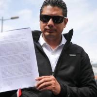 Tras fracaso por primera denuncia Balda presenta otra por peculado contra Correa