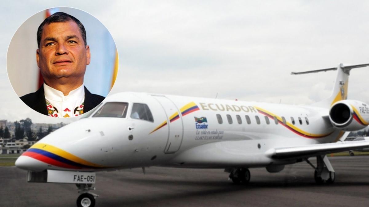 """Rafael Correa desbarata versión del Gobierno y medios sobre """"vuelos irregulares"""""""