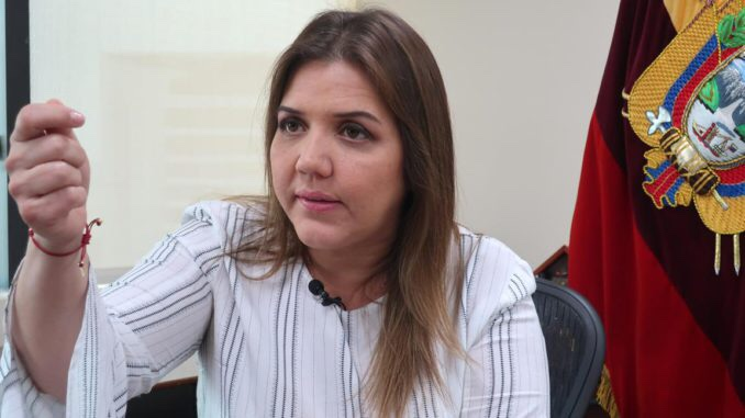 Vicepresidenta de Ecuador no conoce la suma global depositada en su cuenta
