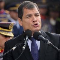 """""""Ni un solo voto a los traidores y oportunistas"""", mensaje a ecuatorianos de Correa"""