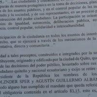 Impugnan a Otto Sonnenholzner y Agustín Albán por no pagar impuestos al Estado ecuatoriano