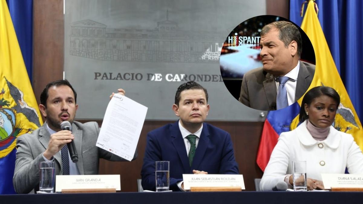 """Correa responde a gobierno de Moreno sobre """"dinero recuperado de corrupción"""""""