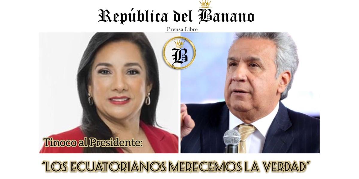 "Tinoco pide a Moreno investigar denuncia en contra de ""él mismo"""