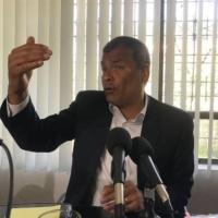 Rafael Correa se candidatizaría para la Vicepresidencia de la Asamblea, de haber elecciones anticipadas