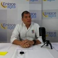 """Rafael Correa: Chicaiza y Falcón """"saldrán libres en los próximos días porque fue pactado con el Gobierno"""""""