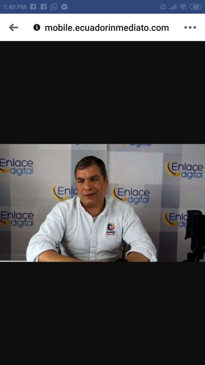 """Informe del CPCCS-T sobre reconstrucción de Manabí """"carece de sustento técnico y legal"""", dice Carlos Bernal"""