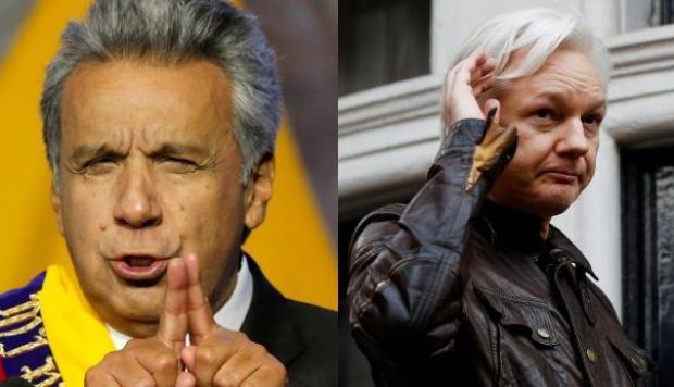 Lenin Moreno contra Julian Assange