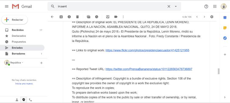 Presidencia de la República persigue a medios digitales en Ecuador que replican actos dde corrupción de Presidente Lenin Moreno 2