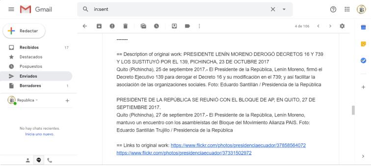 Presidencia de la República persigue a medios digitales en Ecuador que replican actos dde corrupción de Presidente Lenin Moreno 4