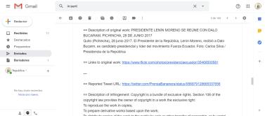 Presidencia de la República persigue a medios digitales en Ecuador que replican actos dde corrupción de Presidente Lenin Moreno 5