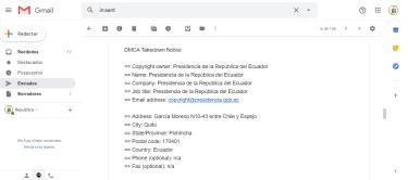 Presidencia de la República persigue a medios digitales en Ecuador que replican actos dde corrupción de Presidente Lenin Moreno
