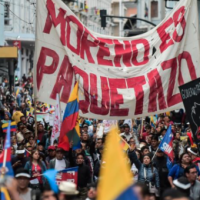 Campesinos, trabajadores y transportistas se unieron al paro nacional en Ecuador