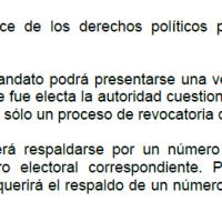 Constitución indica que CPCCS puede ser destituido solo a través de revocaría en las urnas