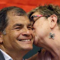 Correa admite que los chats con Alexis Mera son reales
