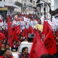 Sindicatos llaman a protestar contra el Gobierno y el acuerdo con el FMI