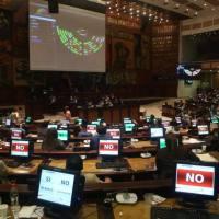 Asamblea da un duro golpe al gobierno negando #LeyDelSaqueo