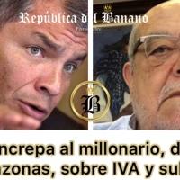 """Correa: """"Egas se fue a vivir a España para no pagar impuestos"""""""