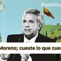 #ArticuloBananero| ¡Las tramas de Moreno: ¡cueste lo que cueste!