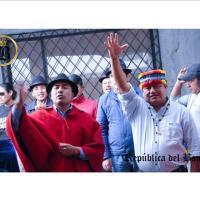 Fiscalía abre investigación contra Jaime Vargas y Leonidas Iza por presunto instigación, rebelión y terrorismo