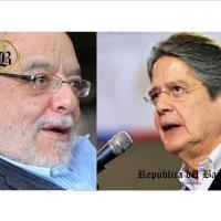 """Guillermo Lasso a Fidel Egas: """"Yo sí cumplo la ley y pago mis impuestos. ¿Y tú?"""""""
