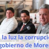 Sale a la luz la corrupción del gobierno de Moreno