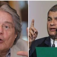 'Pito' entre Lasso y Correa en Twitter por examen Ser Bachiller