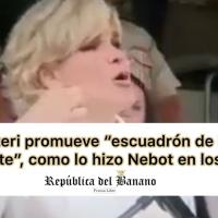 """Alcaldesa de GYE a la Policia Nacional: """"Disparen señores, disparen"""""""