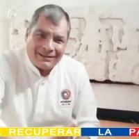 Ex Presidente Correa inicia campaña para elecciones del 2021 en Twitter