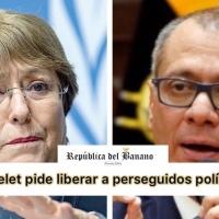 Alta Comisionada para los DD.HH de la ONU, pide liberación de presos políticos (Jorge Glas)
