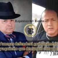 Dr. Vanegas defenderá a preso político rechazando la intimidación del gobierno de Moreno