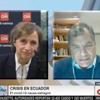 """Correa a Moreno: """"Cuando uno asume la Presidencia, es para dar la vida (no para esconderse)"""""""