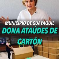 Municipio humilla a Guayaquileños con ataúdes de cartón para fallecidos #Covid19Ec