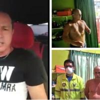 Guayaquileño que perdió familiar por #Covid19Ec y denunció al gobierno como corrupto, es arrestado en paños menores