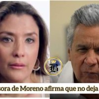La candidata perdedora de Buendía sale en defensa del Presidente Moreno, su aliado
