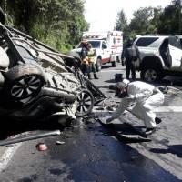 La prepotencia, desacato e imprudencia tras el volante cobraron la vida de Christian Robalino.