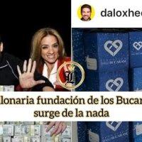 ¿La millonaria fundación de los Bucaram fue creada porqué: 1. Son solidarios o 2. 'lavan' dinero?