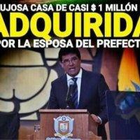 Esposa del Prefecto Carlos Luis Morales, adquiere lujosa casa en 1 millón USD