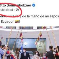 """Sonnesholnner paga publicidad en Facebook por likes, que difundan que se fue """"con la frente en alto de la Vice"""""""