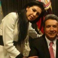 """#LadyVeci quién denigra a indígenas y quiteños por el vocablo afectivo """"veci"""", es cercana a Moreno"""