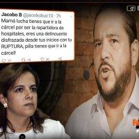 """Jacobo Bucaram:""""Mama Lucha tienes que ir a la cárcel por ser la repartidora de hospitales"""""""
